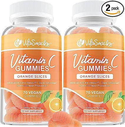 H*O*P Hemp Oil Pulling Vegan, Organic Vitamin C Gummies