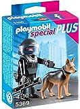 Playmobil - 5369 - Policier des forces spciales avec chien