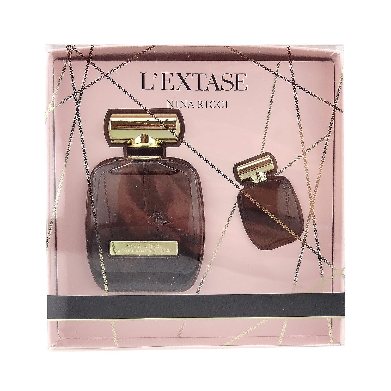 Nina Ricci L'Extase for Women 2 Piece Set Includes: 1.7 oz Eau de Parfum Spray + 0.17 oz Eau de Parfum Puig