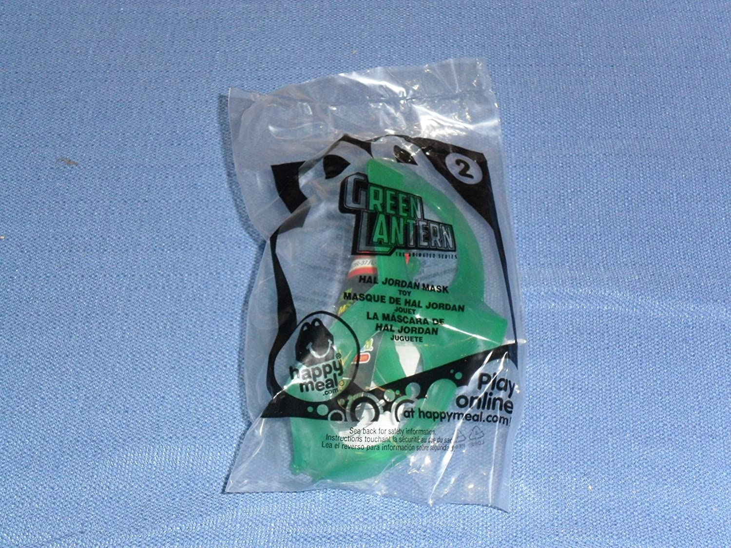 Amazon.com : 2012 McDonalds Happy Meal . . . Green Lantern . . . Hal Jordan Spinning Mask . . . #2 : Other Products : Everything Else