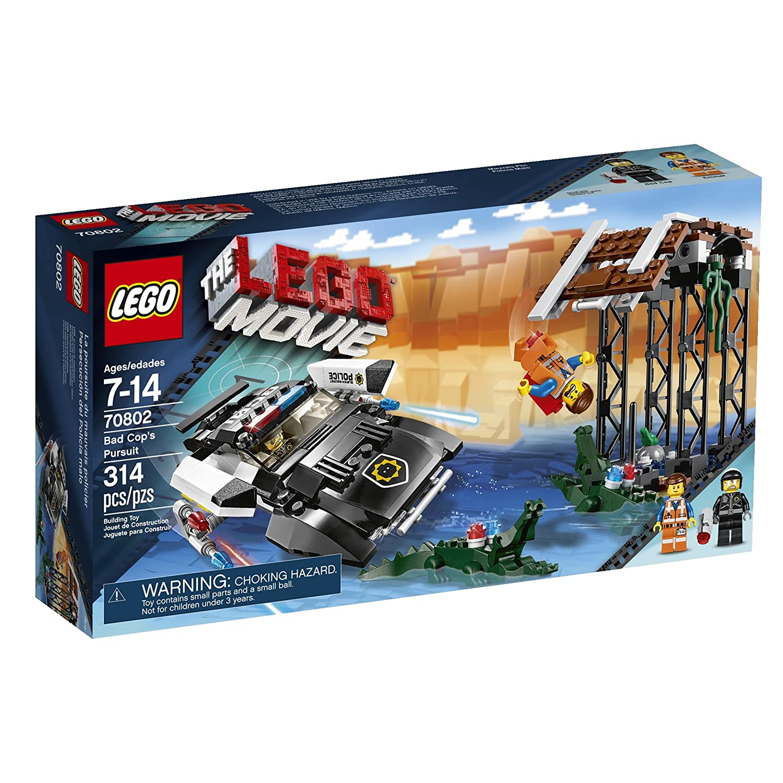 LEGO The Movie Bad Cop 's Pursuit Child 314pieza (S) Gebäude Konstruktion–Spiele (Multicolor, 7Jahre (S), 314PC (S), Kind, 14Jahr (S)) 6061110