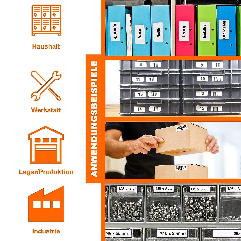 101x54mm Set Bubprint 5x ETICHETTE compatibile per Dymo 99014 ETICHETTE