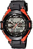 Ego by Maxima Analog-Digital Multi-Color Dial Unisex Watch - E-33250PPAN