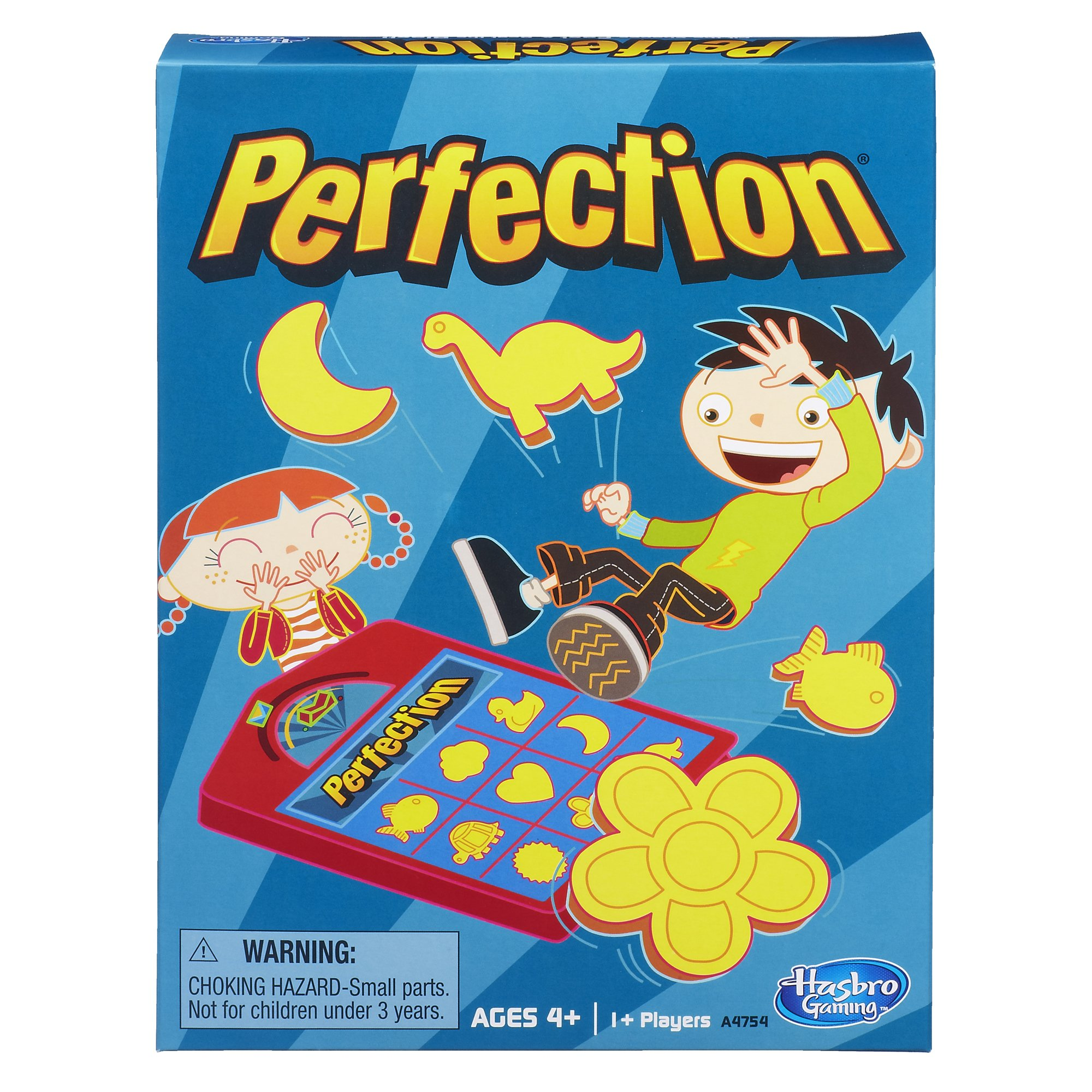 Hasbro Perfection Game, Ages 4 and up