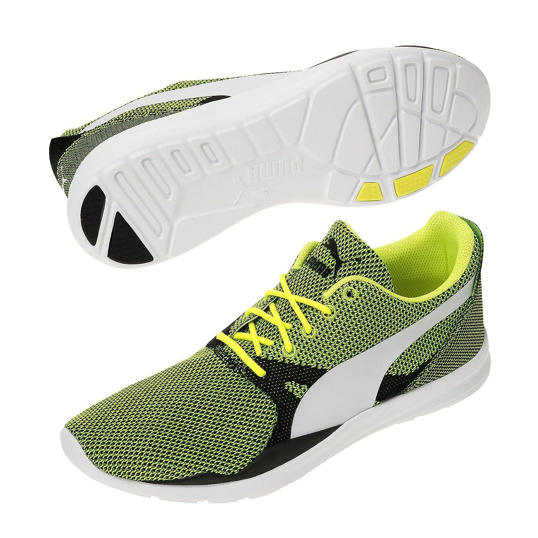 Puma Duplex Evo Knit Safety YellowSteel Gray Men´s