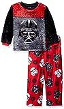 Star Wars Boys' Galactic 2-Piece Pajama Set,Red,6