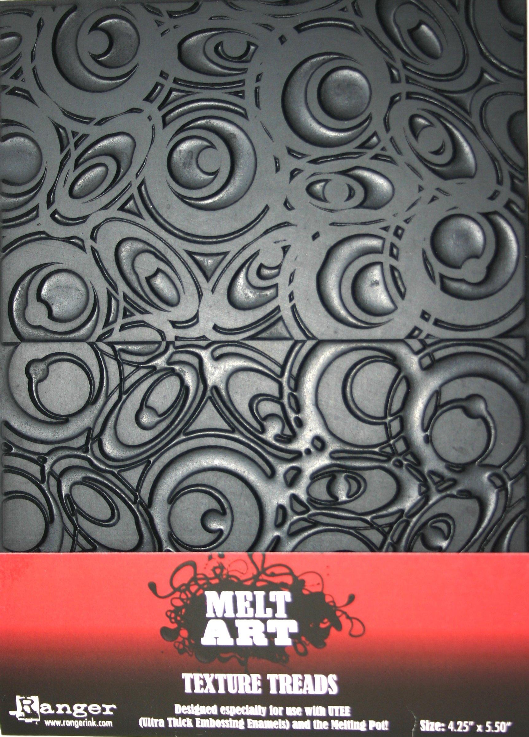 Ranger SUT-34728 Melt Art Texture Tread, Mod Circles by Ranger