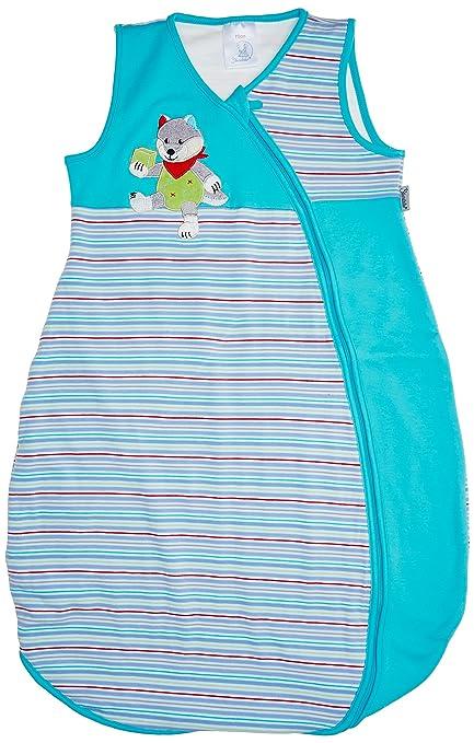 Sterntaler Wilbur - Saco de dormir de verano para bebé (tejido jersey) multicolor Talla