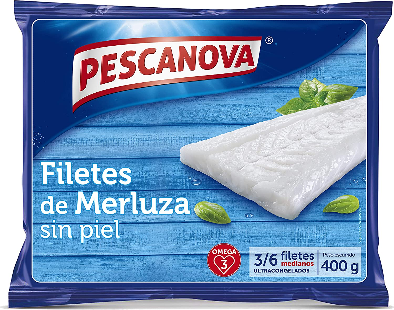 Pescanova Filetes de Merluza sin Piel, 410g, 36 uds: Amazon ...