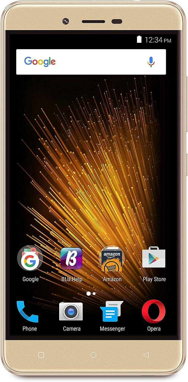 "BLU VIVO XL2 - 5.5"" 4G LTE GSM Unlocked Smartphone- 32GB+3GB RAM -Gold"