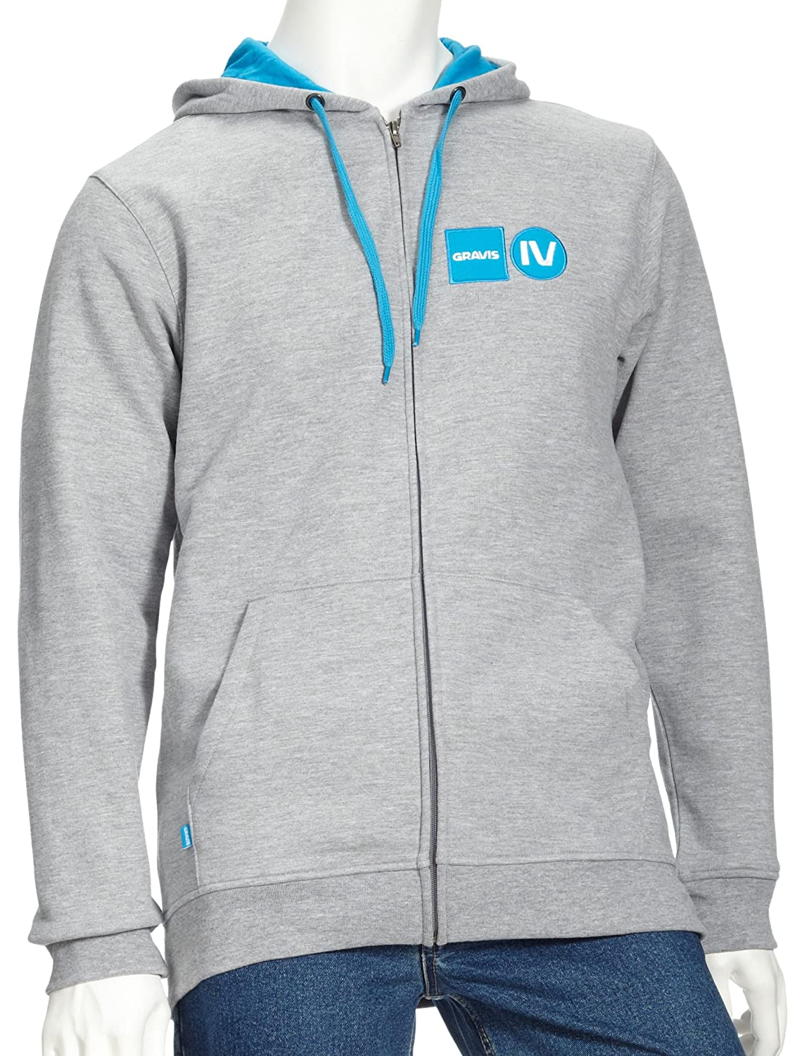 Gravis Men's ziphoodie DNA EU