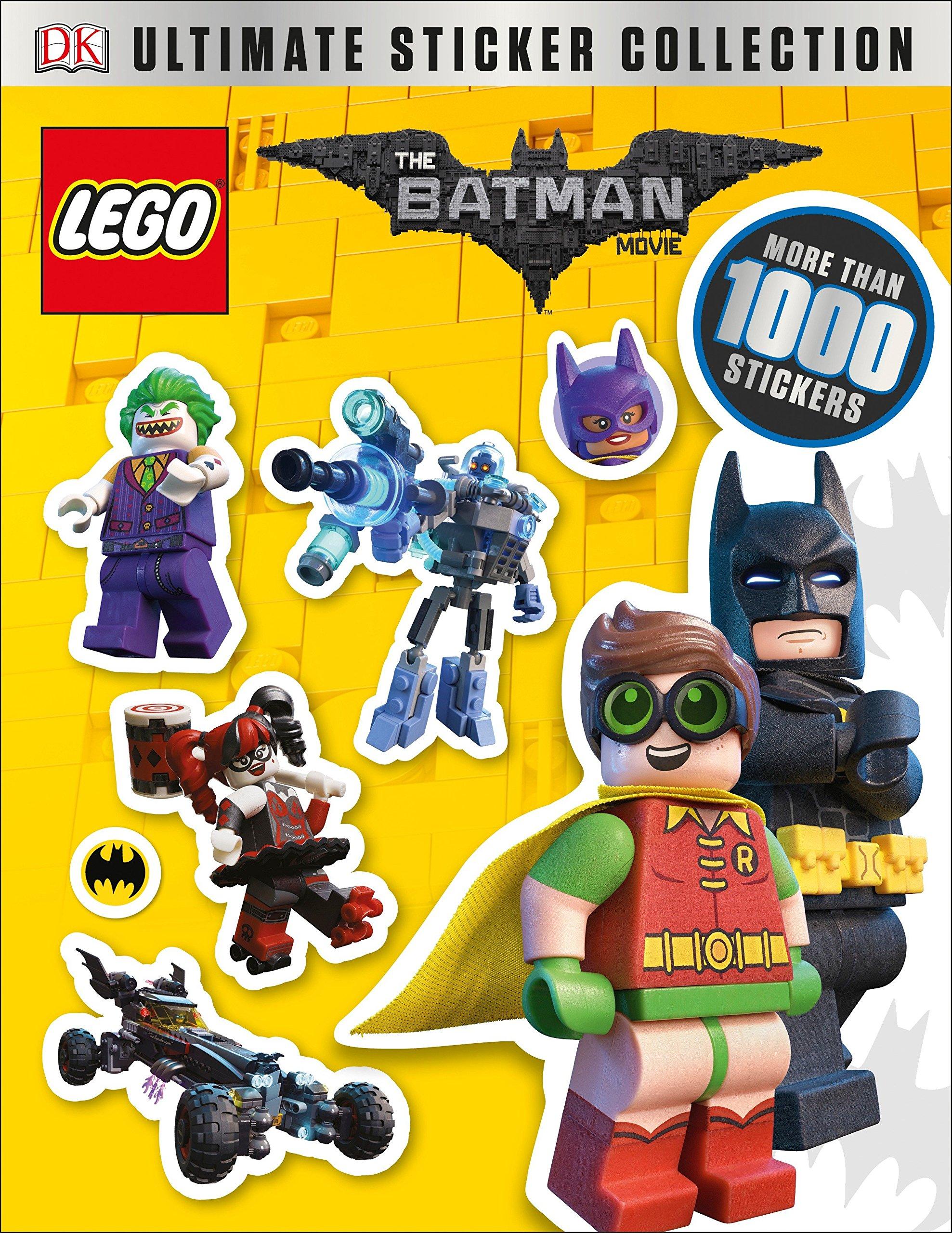 """25 Lego Batman Movie Stickers 2.5/"""" x 2.5/"""""""