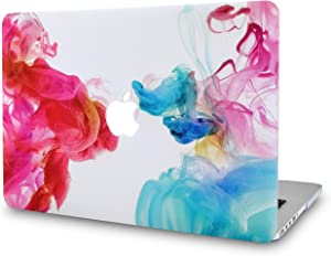 LuvCase Laptop Case for MacBook Air 13 Inch A1466 / A1369 (No Touch ID) Rubberized Plastic Hard Shell Cover (Oil Paint)