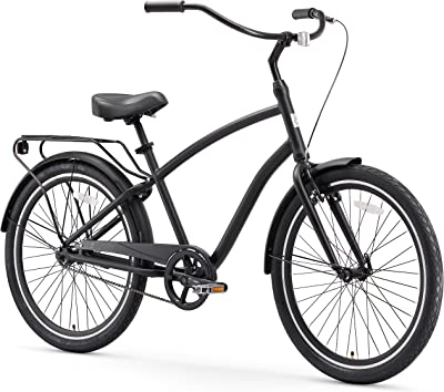 Hybrid Alloy Beach Cruiser Bicycle