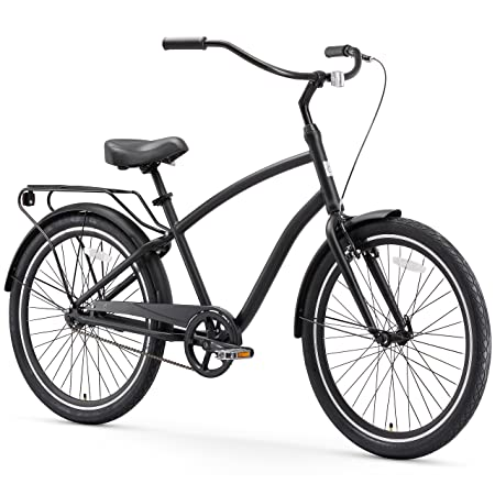 sixthreezero EVRYjourney Men's Hybrid Cruiser Bicycle, 26' Wheels/ 19' Frame