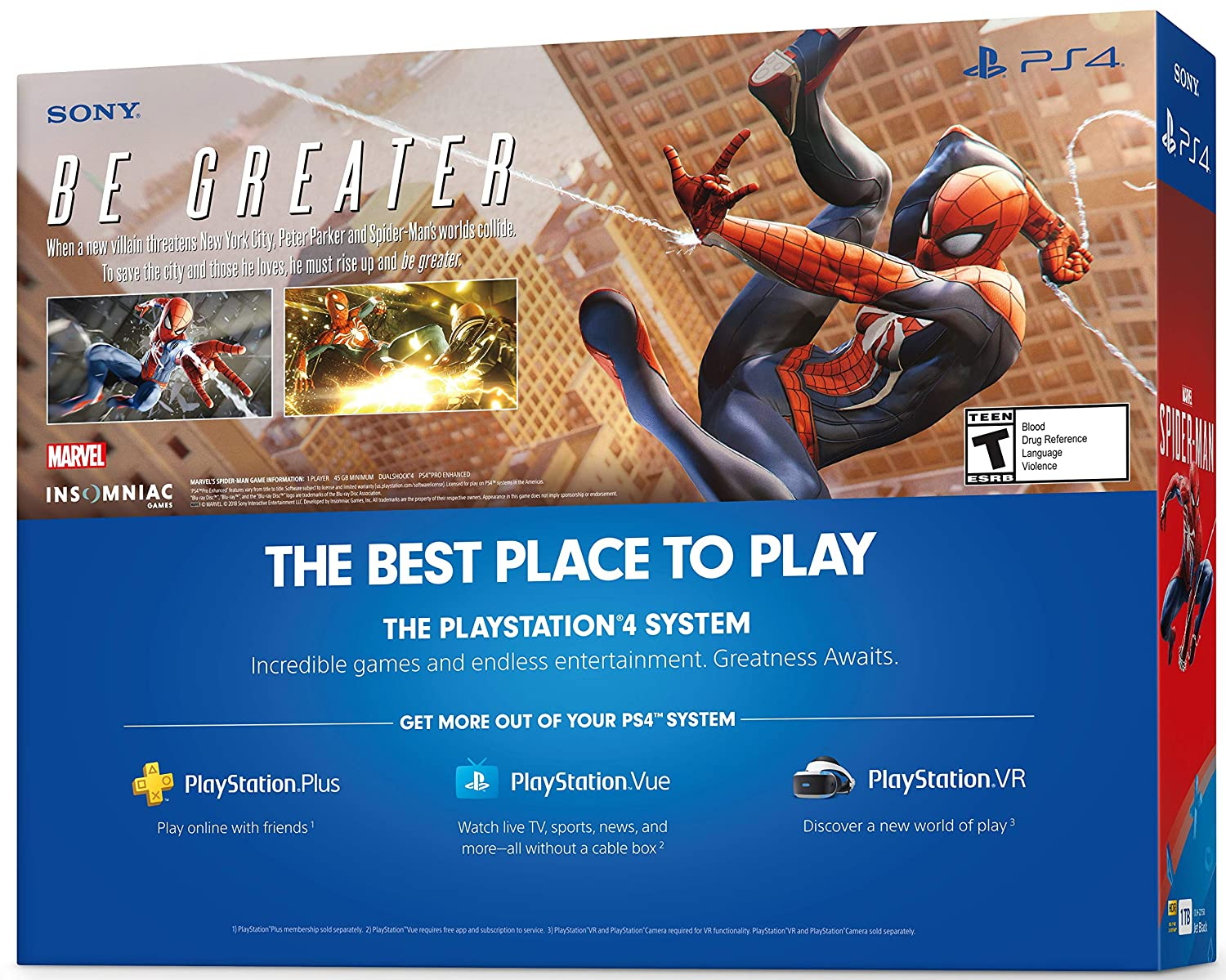 Amazon.com: Playstation Marvels Spider-Man Starter Bundle ...