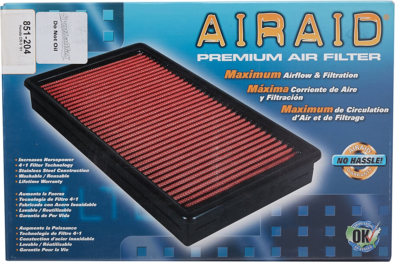 Airaid 851-144 Direct Replacement Premium Dry Air Filter