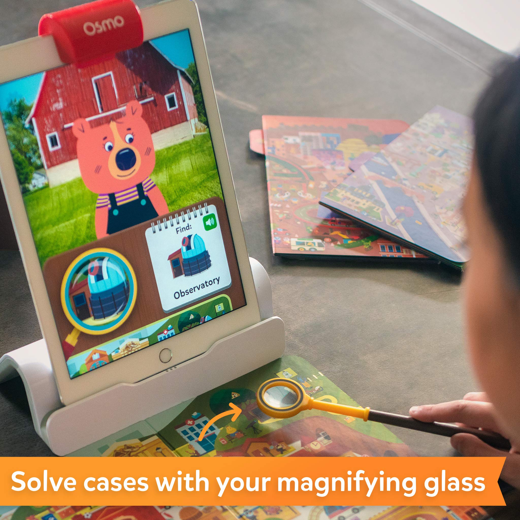 Osmo - Detective Agency: A Search & Find Mystery Game - Ages 5-12 - Explore The World - For iPad and Fire Tablet (Osmo Base Required) by Osmo (Image #4)