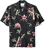 28 Palms Men's Relaxed-Fit Silk/Linen Hawaiian Shirt
