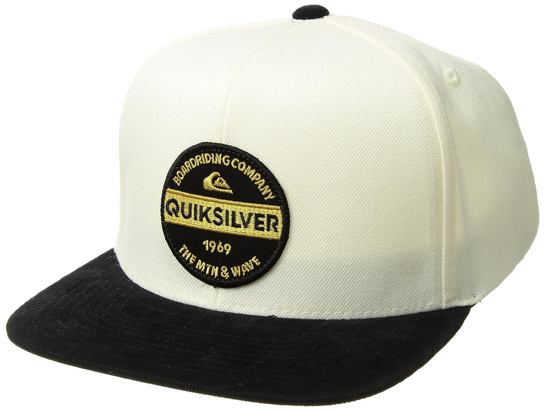 """AQYHA03684 QUIKSILVER /""""MARBLESON/"""" MENS ADJUSTABLE TRUCKER HAT."""
