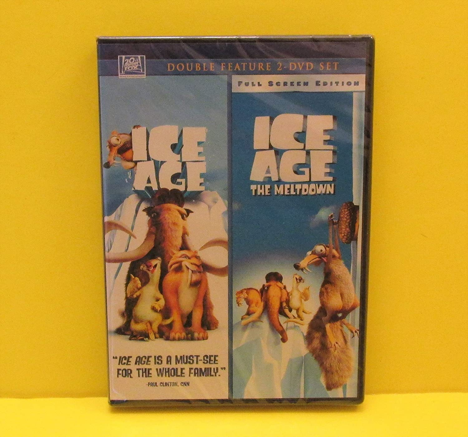 Amazon Com Ice Age Ice Age The Meltdown Double Feature 2 Disc Set 2009 Movies Tv