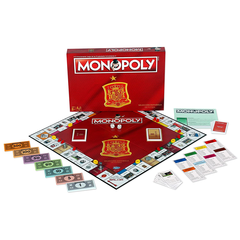 Juego de mesa , Monopoly Seleccion  española