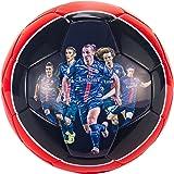 Ballon PSG Joueurs Ibrahimovic Silva Lucas - Collection officielle Paris Sain...