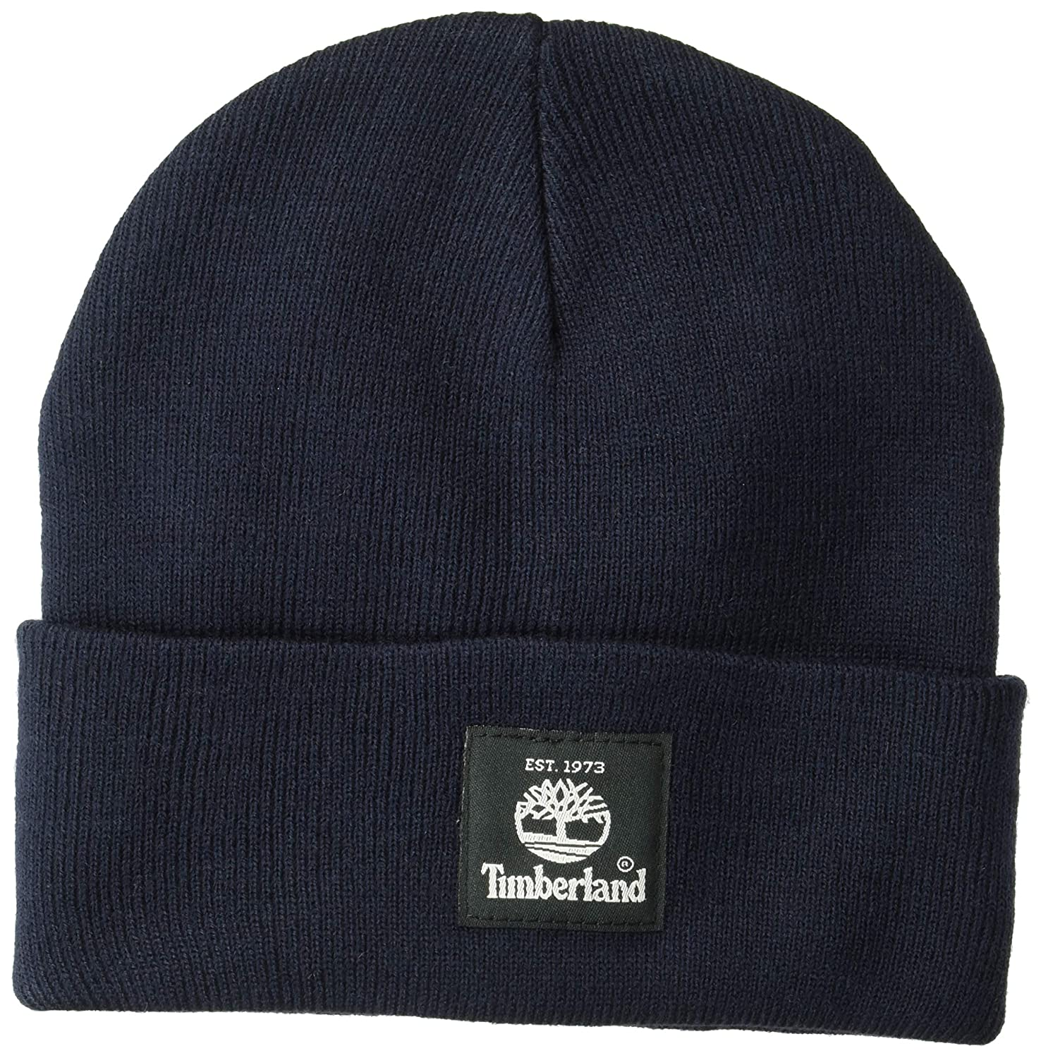 f17c72cee0b1f Timberland Men s Short Watch Cap with Woven Label