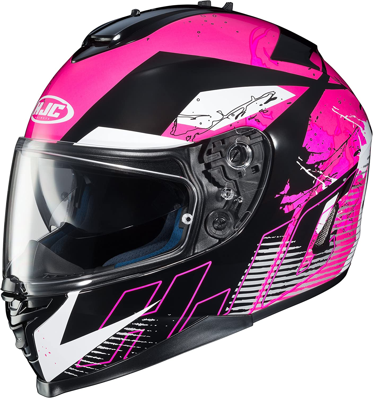 Amazon Com Hjc 0818 1308 03 Is 17 Blur Helmet Distinct