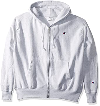 e55496838e58 Amazon.com  Champion LIFE Men s Reverse Weave Full-Zip Hoodie  Clothing