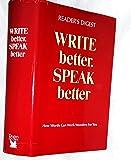 Write Speak Better