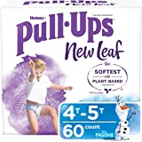 Pull-Ups New Leaf Boys' Training Pants, Size 4T-5T (60 Count)