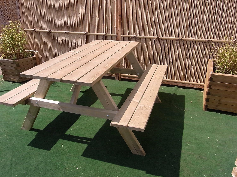picknicktisch bierbank 150 cm picknickbank bank tisch g nstig kaufen. Black Bedroom Furniture Sets. Home Design Ideas