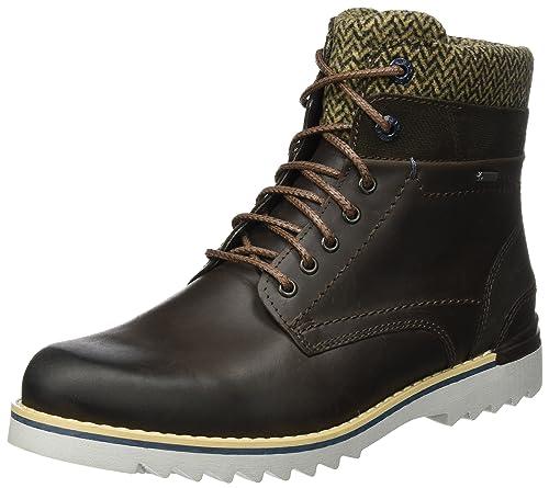 FRETZ men Cooper - botas y botines de tacón bajo Hombre, Marrón - Braun (59 mokka), EU 44: Amazon.es: Zapatos y complementos