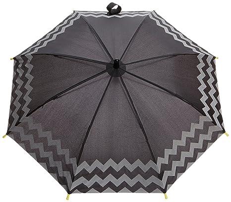 Fulton Junior 4 - Paraguas para niños, color negro (back to school),