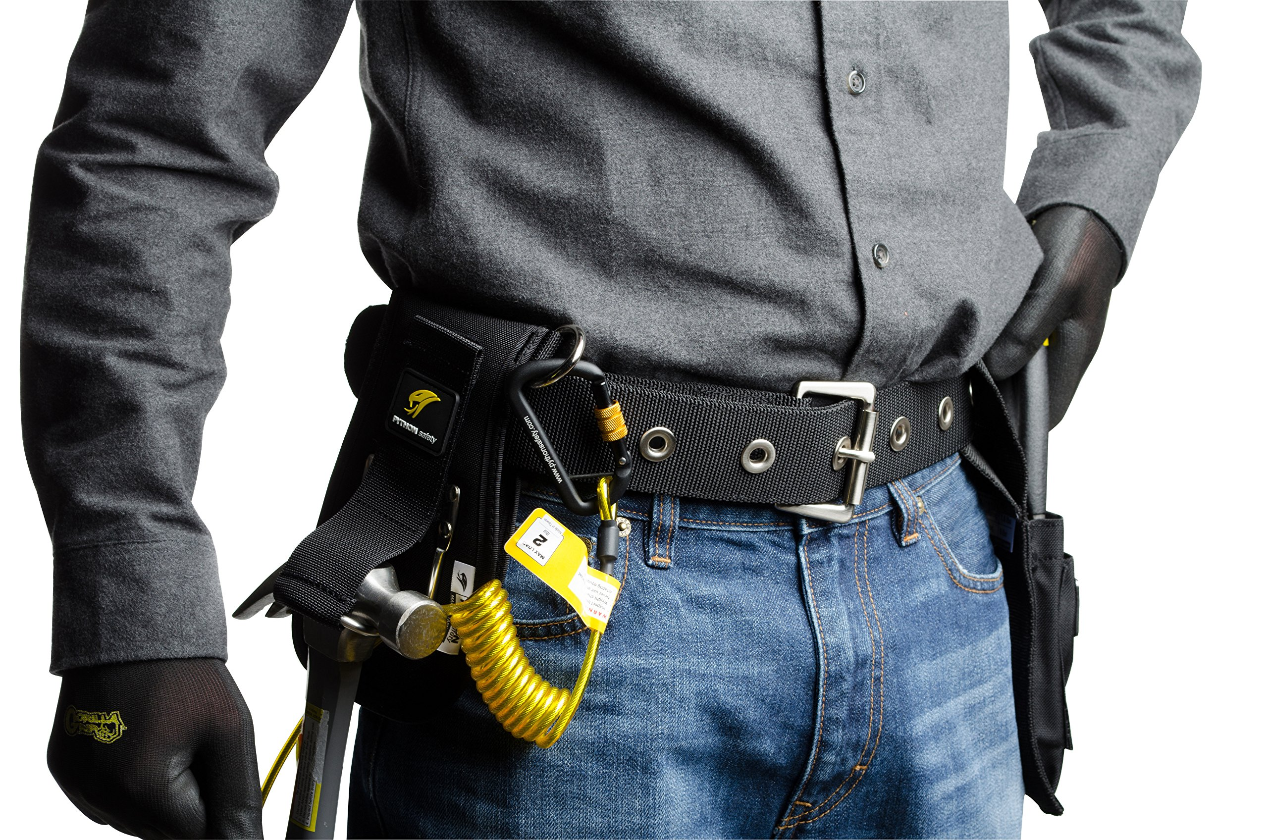 3M DBI-SALA Fall Protection For Tools, 1500093,Hook andLoop Closure Strap w/1'' D-Rings On Both Sides Of Holster Allowing Tools To Be Tethered By User Preference by 3M Personal Protective Equipment