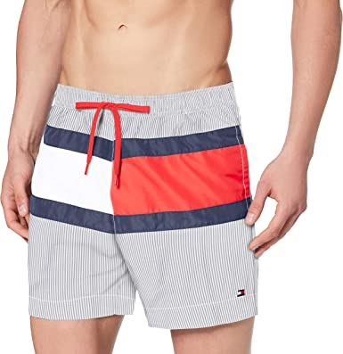 Oferta amazon: Tommy Hilfiger Medium Drawstring Bañador para Hombre Talla XL