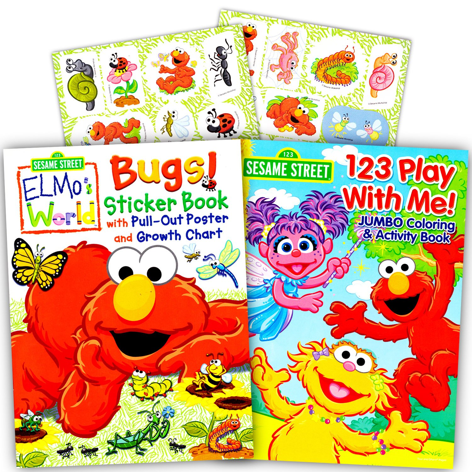 Wonderful Mandala Coloring Books Huge Stained Glass Coloring Book Shaped Precious Moments Coloring Book Avengers Coloring Book Youthful Books About Colors BrownPantone Color Books Amazon.com: Sesame Street Elmo Coloring Book Set With Stickers (2 ..