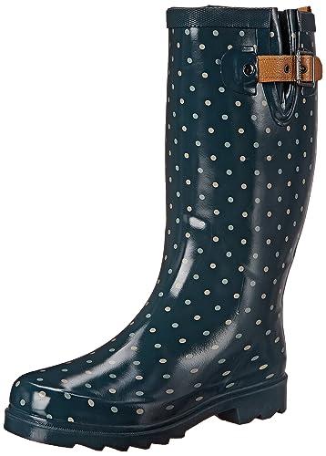 Chooka Women's Classic Dot Rain Boot Kq3d9QAf9E