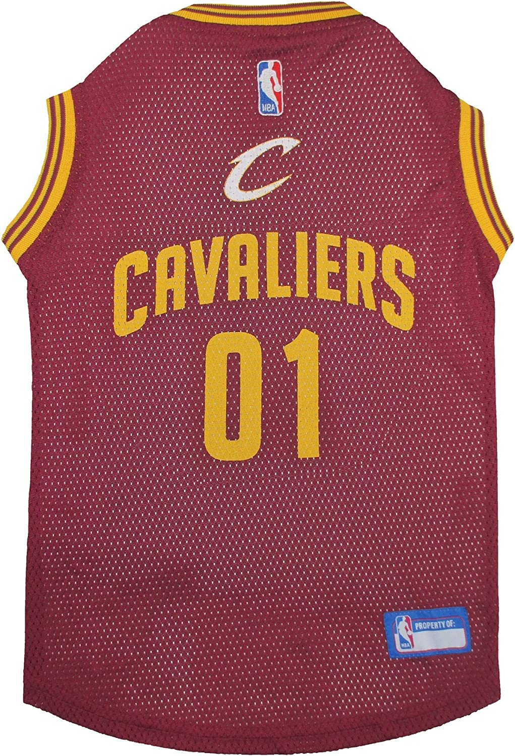 Best NBA Dog Gear NBA PET Apparel Licensed Jerseys for Dogs /& Cats Available in 25 Basketball Teams /& 5 Sizes Cute pet Clothing for All Sports Fans