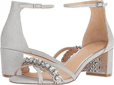 5d79e0ce7c Amazon.com: Badgley Mischka Women's Giona Heeled Sandal: Shoes