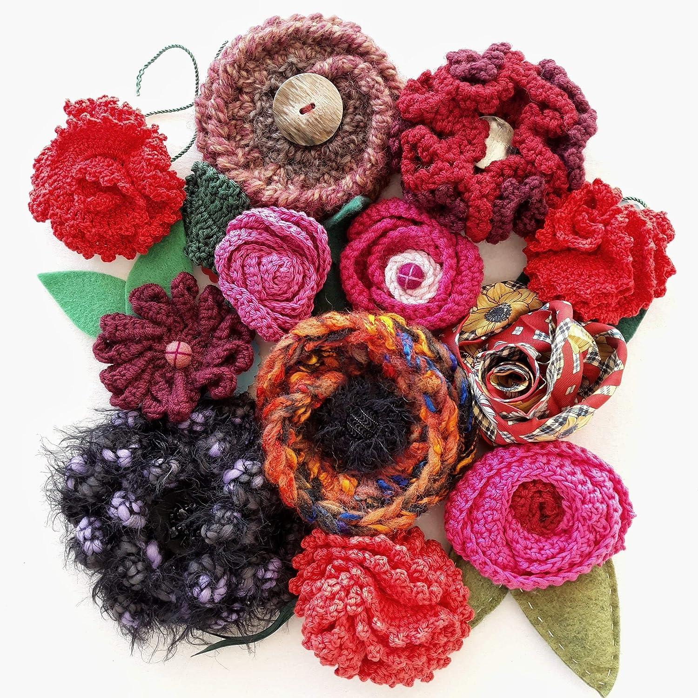 Accesorio ideal para abrigos, chaquetas. Tejido a mano. Crochet: Amazon.es: Handmade
