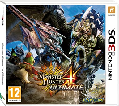 Monster hunter 4 ultimate nintendo 3ds amazon pc video monster hunter 4 ultimate nintendo 3ds voltagebd Image collections