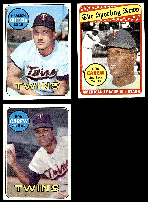 1969 Topps Minnesota Twins Near Team Set Minnesota Twins (Baseball Set) Dean's Cards 5 - EX Twins 91e9XJPzvVLSL1500_