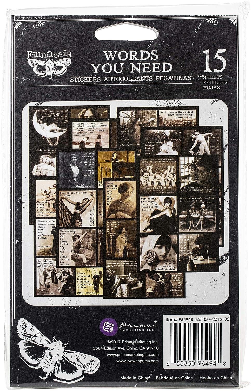 Prima Marketing 964948 Prima Art Tagesplaner Aufkleber 15 St/ück 11,4 x 19,1 cm