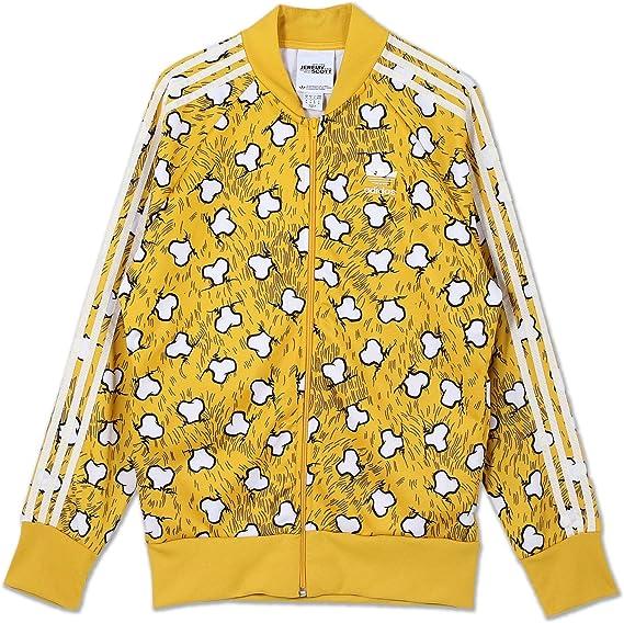 adidas ORIGINALS JEREMY SCOTT JS OS TT os squelette Veste m69820 jaune