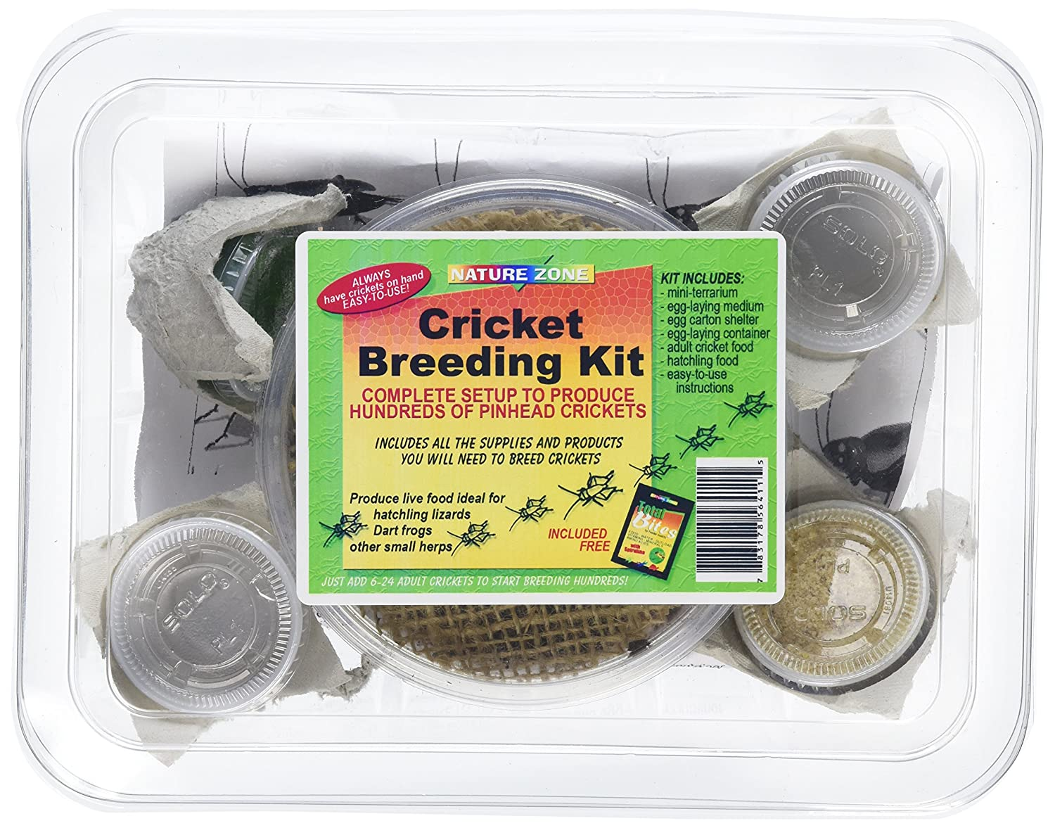Nature Zone SNZ56411 Cricket Breeding Kit TopDawg Pet Supply 831037