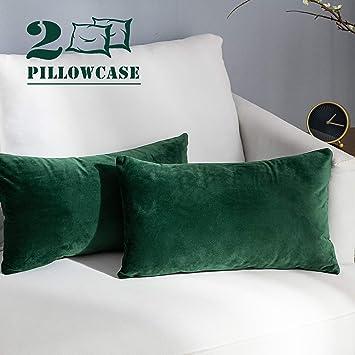 Amazon.com: NANPIPER Funda de almohada de terciopelo: Home ...