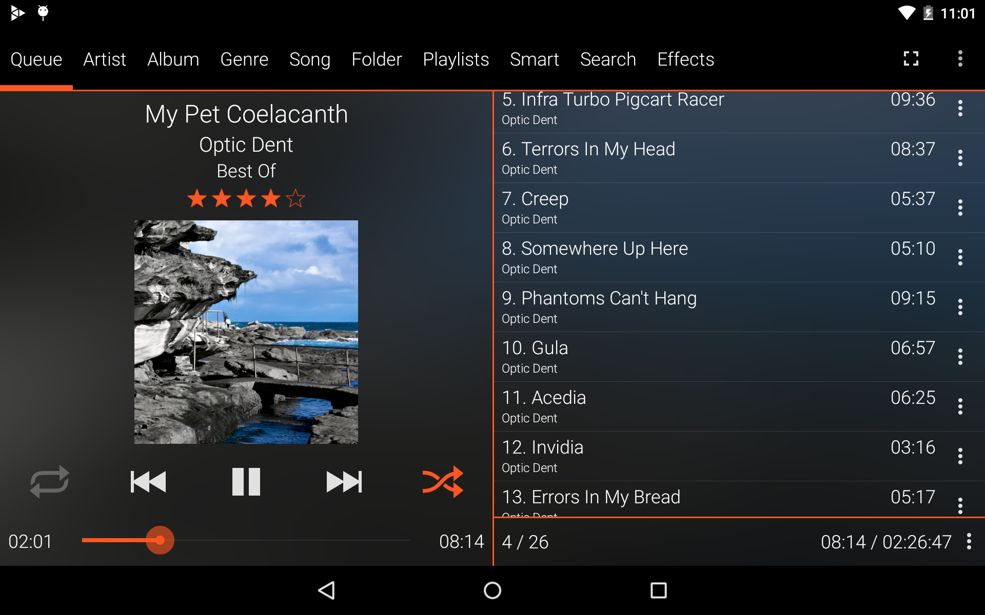 GoneMAD Music Player Trial