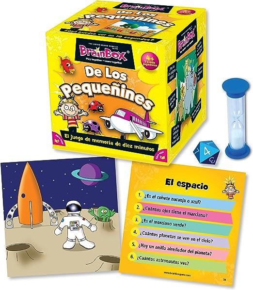 Brain Box Juego de Memoria de Los Pequeñines, Multicolor (Green Board Games 316468A): Amazon.es: Juguetes y juegos